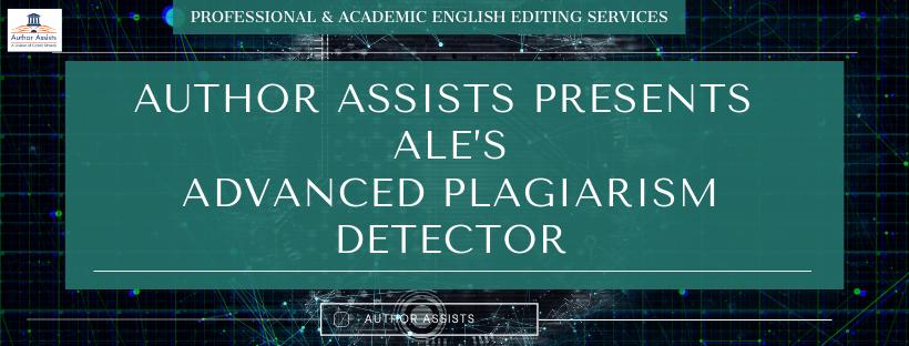 ALE's advanced plagiarism detector